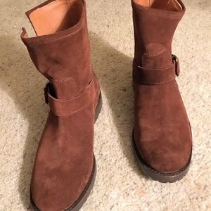 FRYE Suede Ankle boot, sz8 New